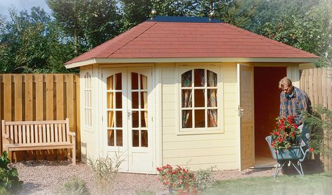 Lugarde Prima Fifth Avenue Duo Garden Summerhouse