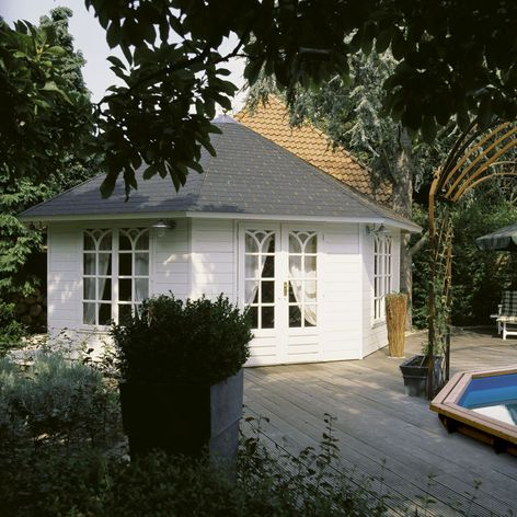 Lugarde Prima Grand Six Octagonal Garden Summerhouse