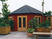 Grand Six garden summerhouses by Lugarde