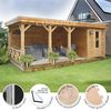 Lugarde Prima Alex Flat Roof Summerhouses