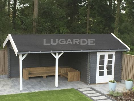 Bergamo pine log cabins from Lugarde