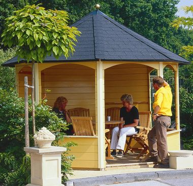 Christina summerhouse without optional window & door frames