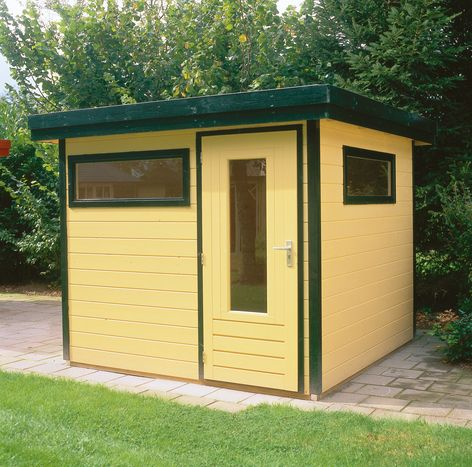 Lugarde Prima Mark flat roof summer houses