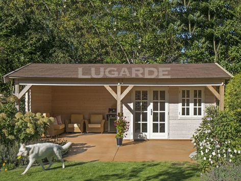 Sanremo pine log cabins from Lugarde