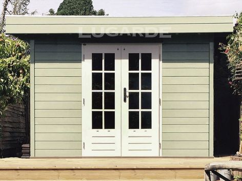 Lugarde Prima Theo flat roof summerhouse with canopy