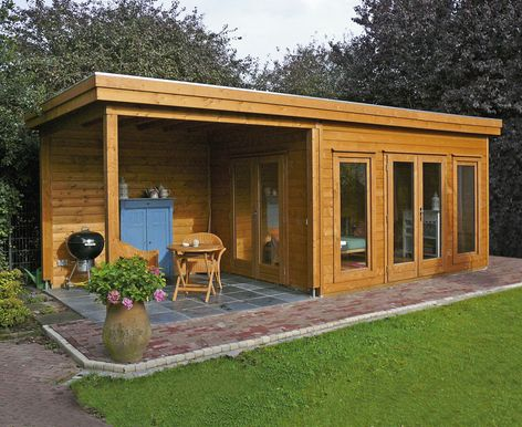 Lugarde Prima Victoria flat roof summer houses